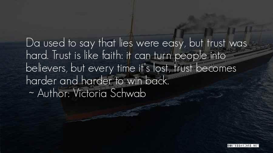 If I Can Turn Back Time Quotes By Victoria Schwab