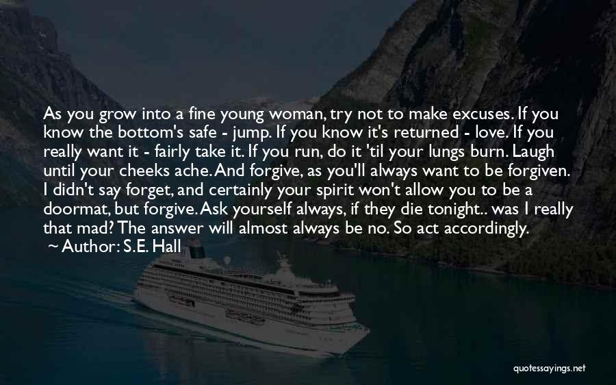 If I Die Young Quotes By S.E. Hall
