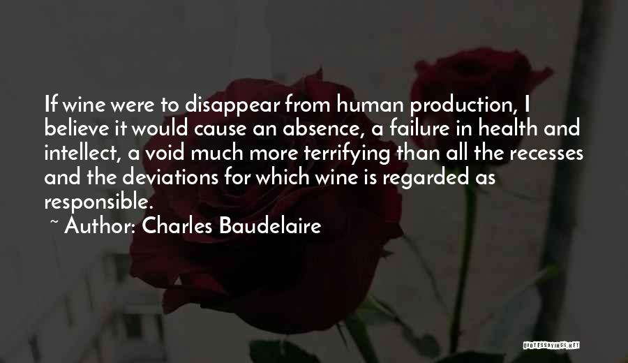 If I Disappear Quotes By Charles Baudelaire
