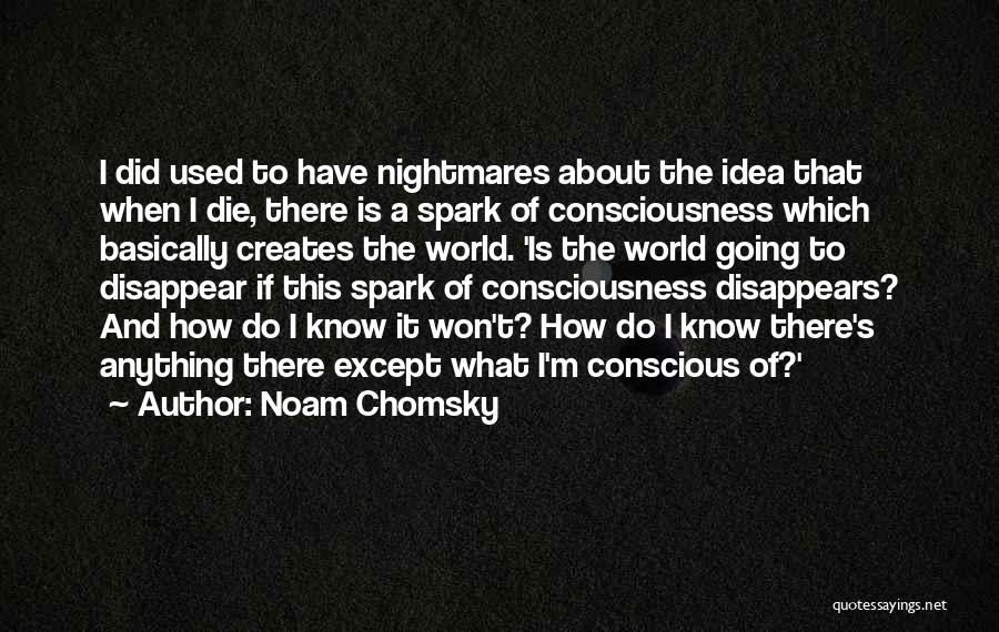 If I Disappear Quotes By Noam Chomsky