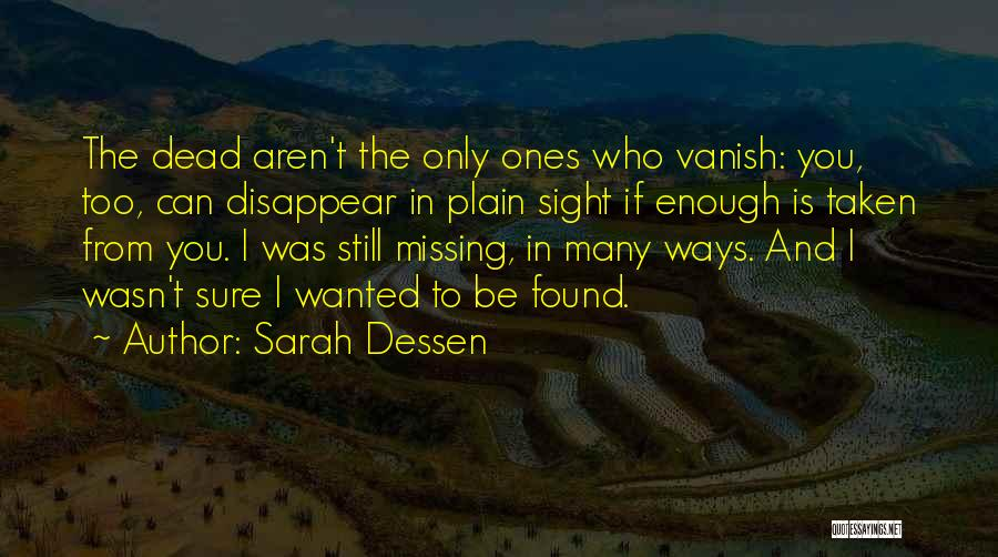 If I Disappear Quotes By Sarah Dessen