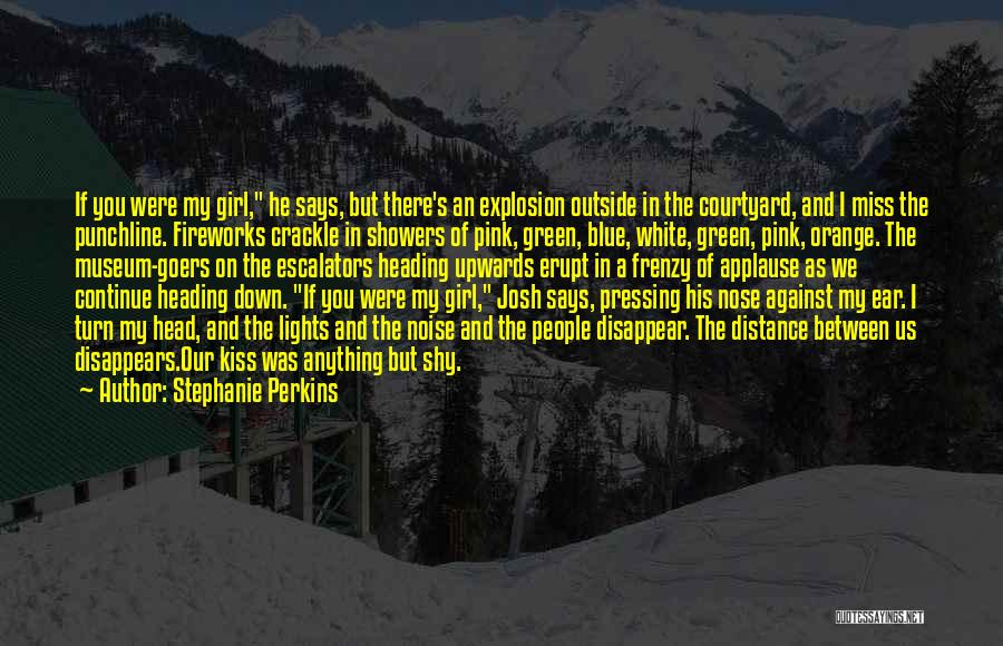 If I Disappear Quotes By Stephanie Perkins
