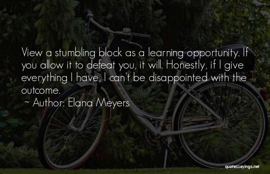 If I Quotes By Elana Meyers