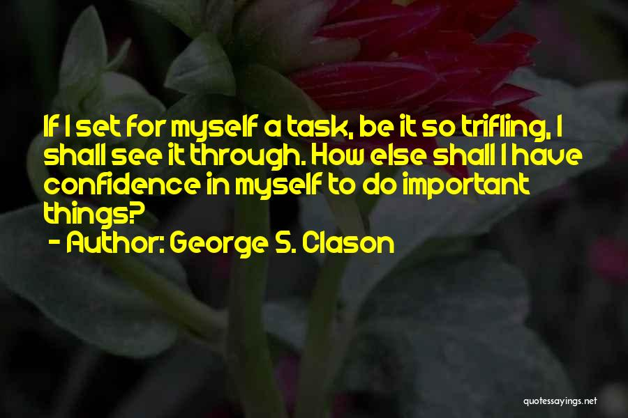 If I Quotes By George S. Clason