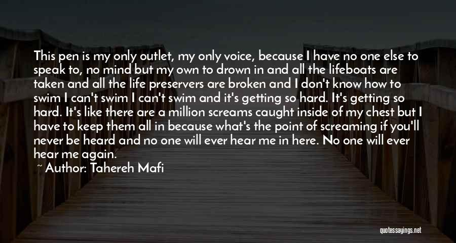If I Speak My Mind Quotes By Tahereh Mafi