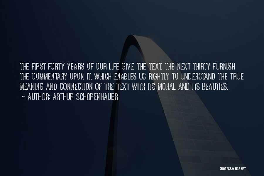 If I Text You First Quotes By Arthur Schopenhauer