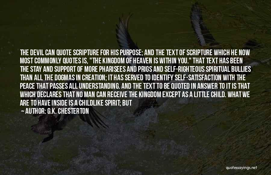 If I Text You First Quotes By G.K. Chesterton
