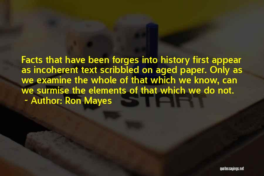 If I Text You First Quotes By Ron Mayes