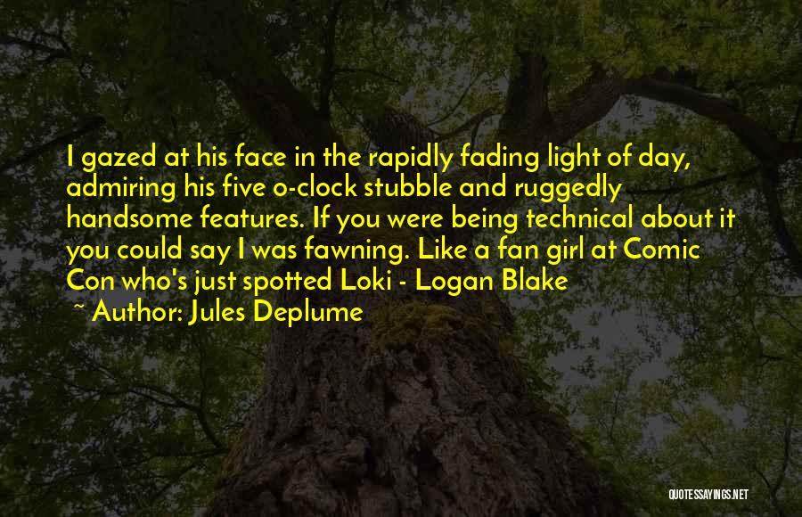 If I Were A Girl Quotes By Jules Deplume