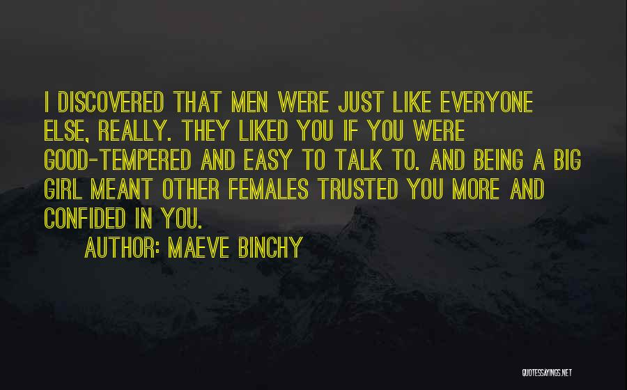 If I Were A Girl Quotes By Maeve Binchy