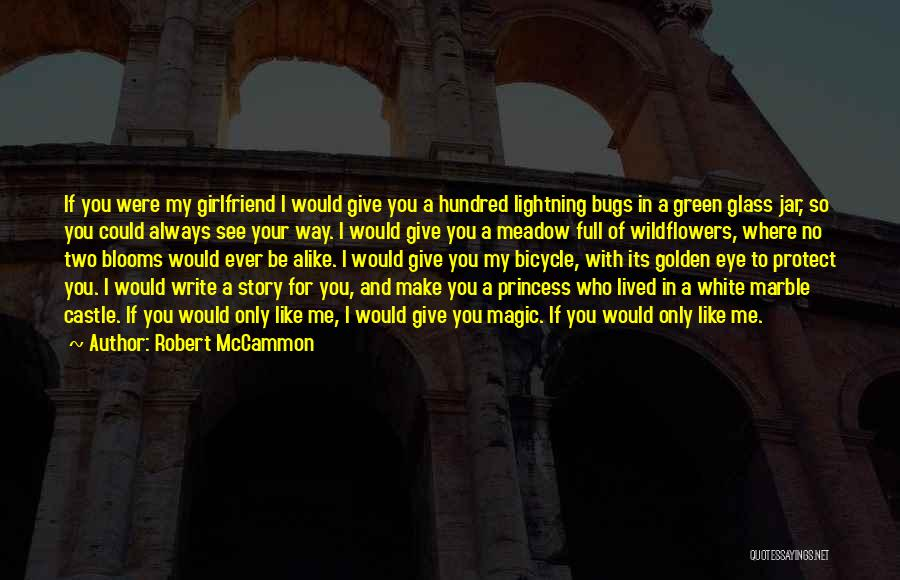 If I Were Your Girlfriend Quotes By Robert McCammon