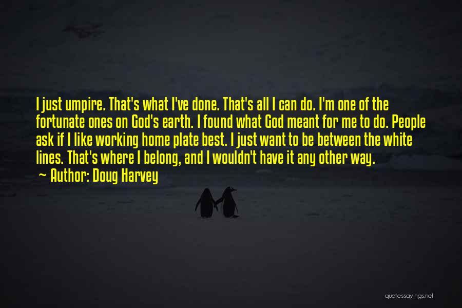 If It's Meant For Me Quotes By Doug Harvey