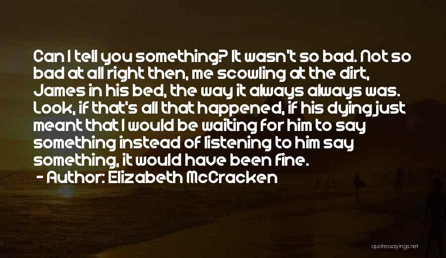 If It's Meant For Me Quotes By Elizabeth McCracken