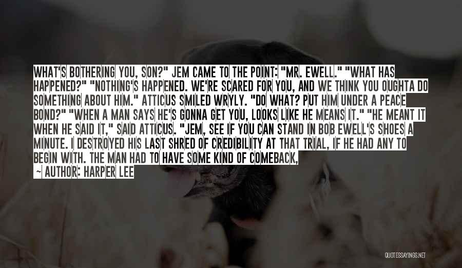 If It's Meant For Me Quotes By Harper Lee
