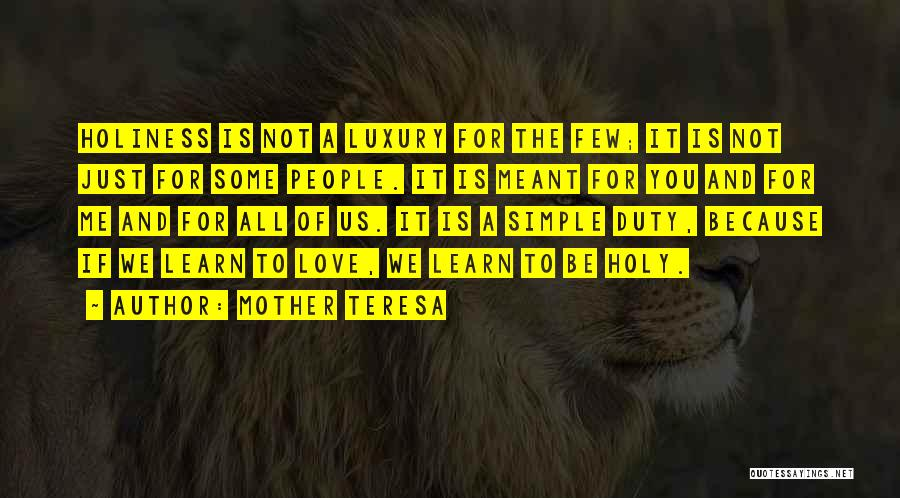 If It's Meant For Me Quotes By Mother Teresa