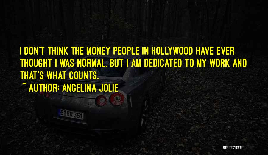 If It's The Thought That Counts Quotes By Angelina Jolie