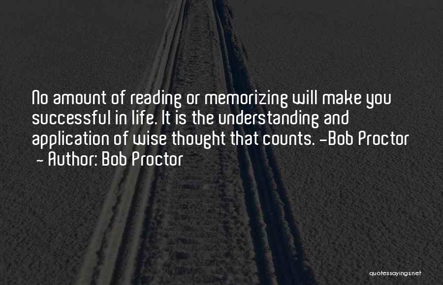 If It's The Thought That Counts Quotes By Bob Proctor