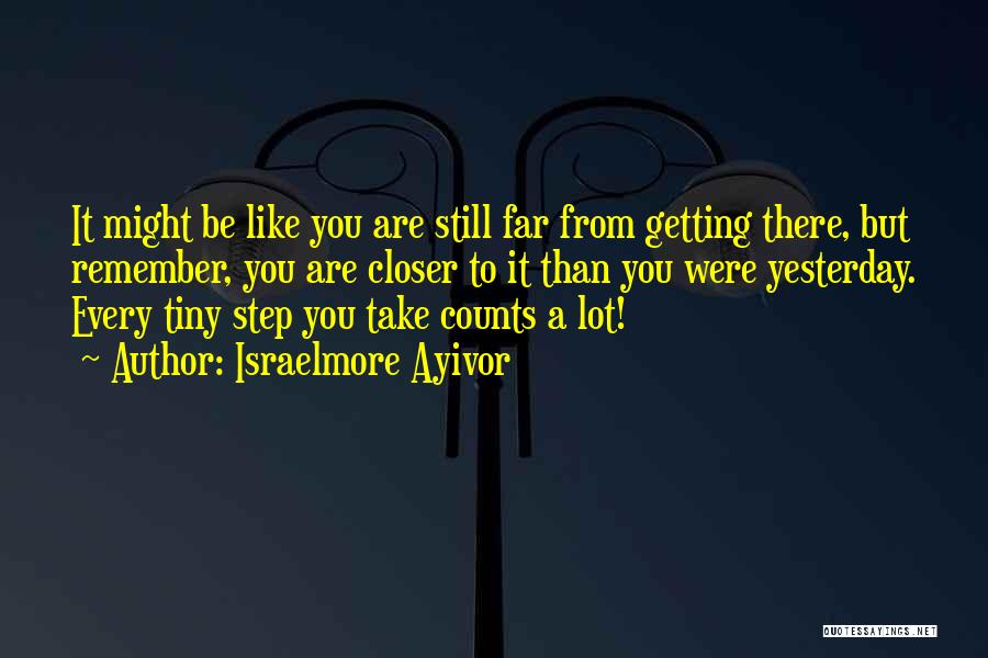 If It's The Thought That Counts Quotes By Israelmore Ayivor