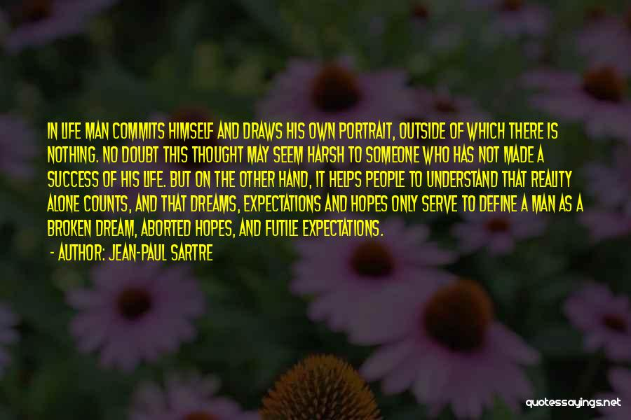 If It's The Thought That Counts Quotes By Jean-Paul Sartre