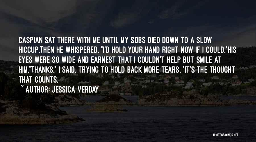 If It's The Thought That Counts Quotes By Jessica Verday