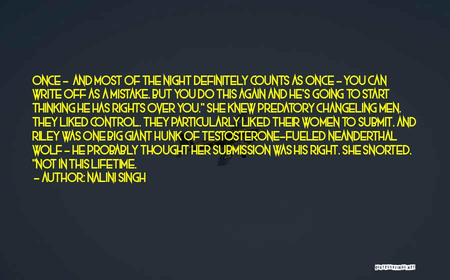 If It's The Thought That Counts Quotes By Nalini Singh