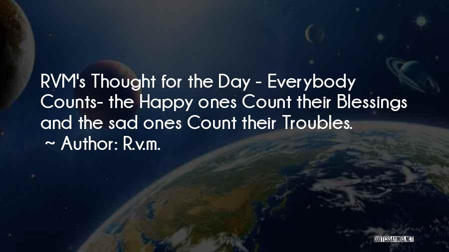 If It's The Thought That Counts Quotes By R.v.m.