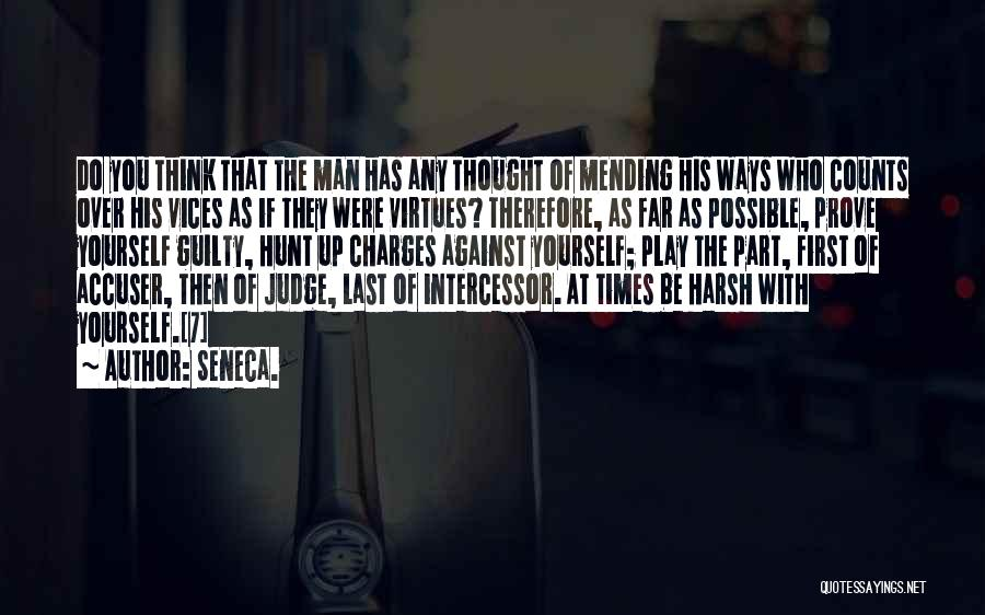 If It's The Thought That Counts Quotes By Seneca.