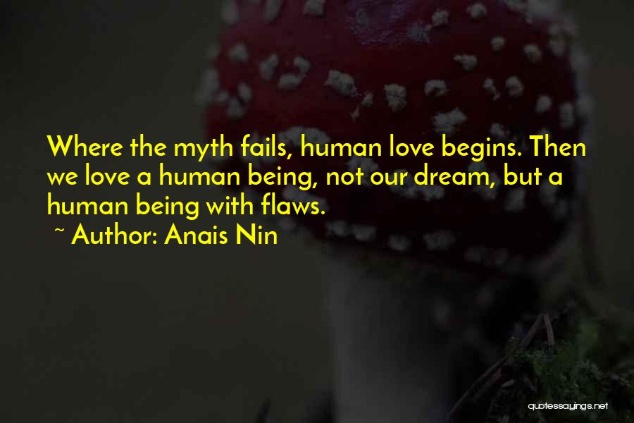 If Love Fails Quotes By Anais Nin