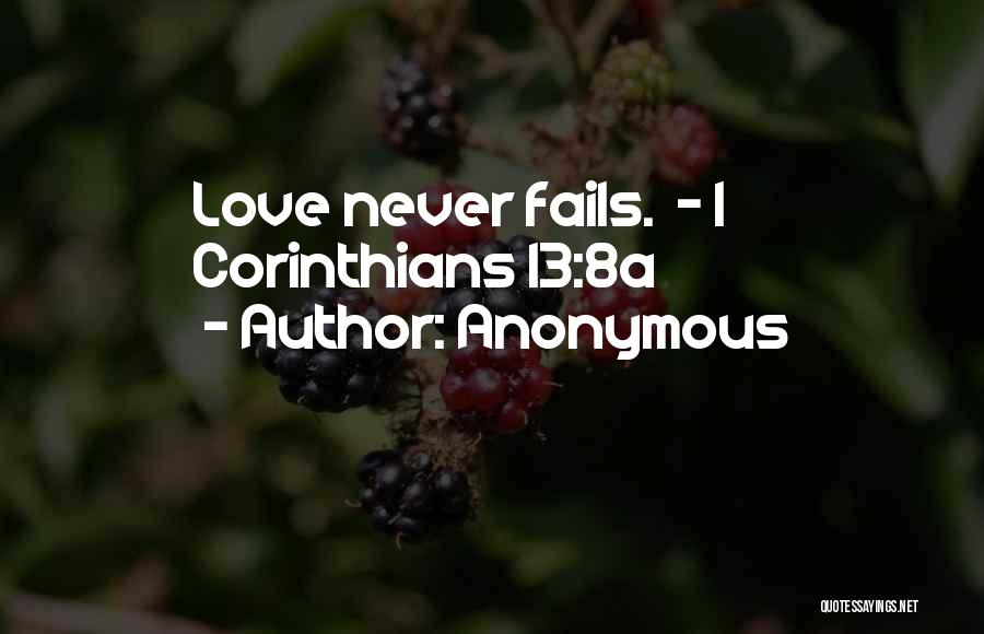 If Love Fails Quotes By Anonymous