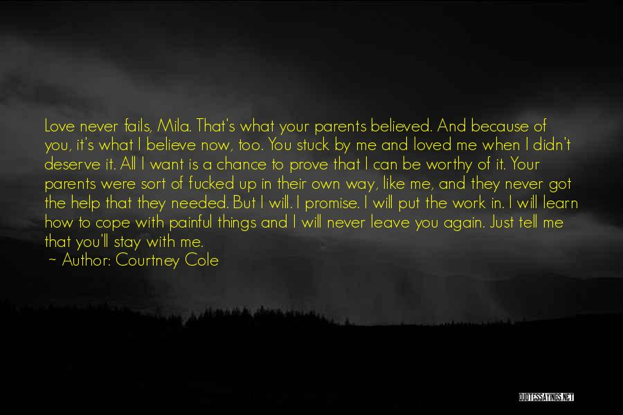 If Love Fails Quotes By Courtney Cole