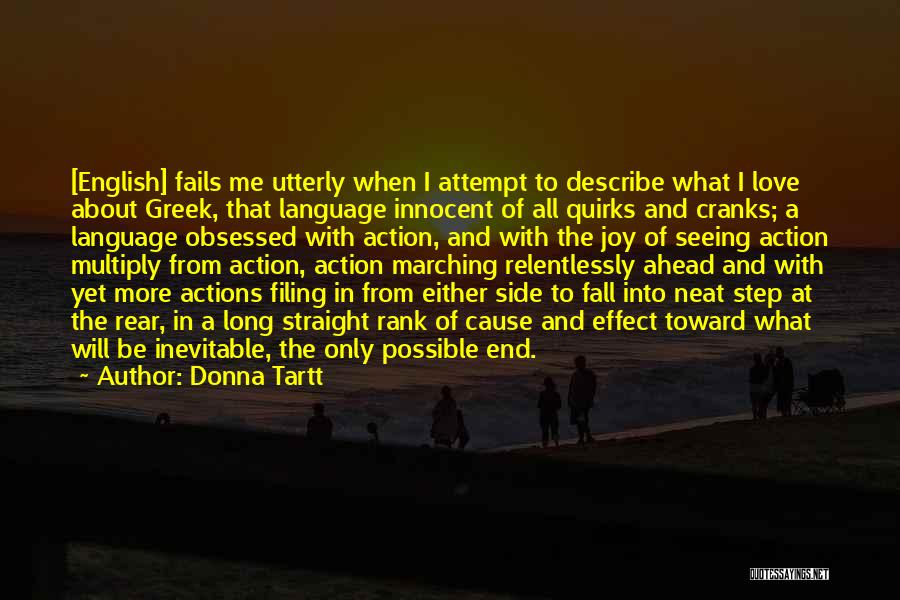 If Love Fails Quotes By Donna Tartt