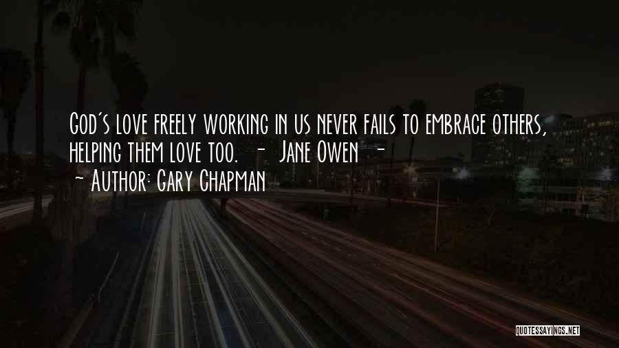 If Love Fails Quotes By Gary Chapman