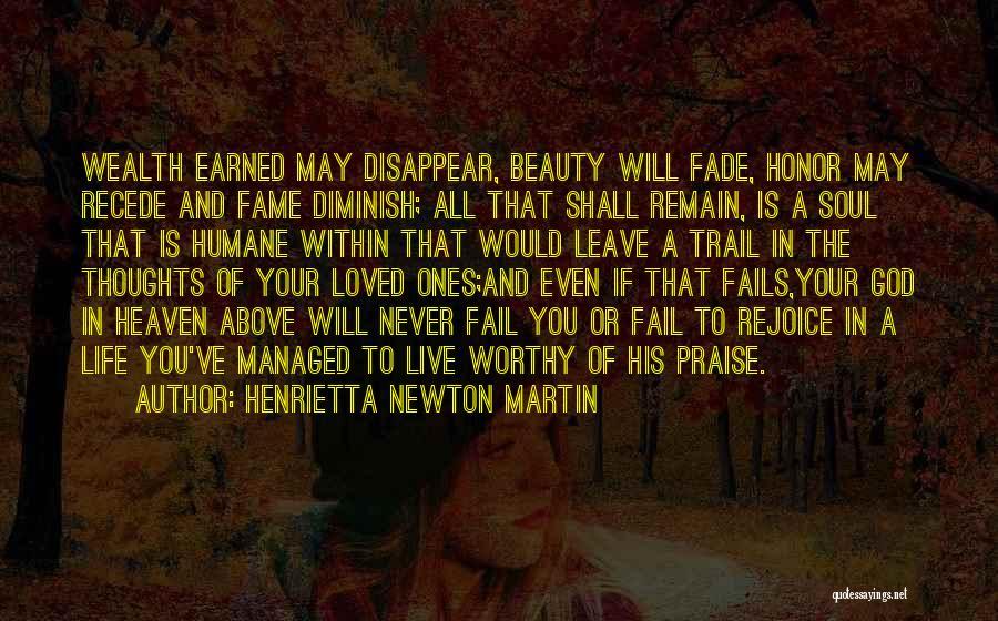 If Love Fails Quotes By Henrietta Newton Martin