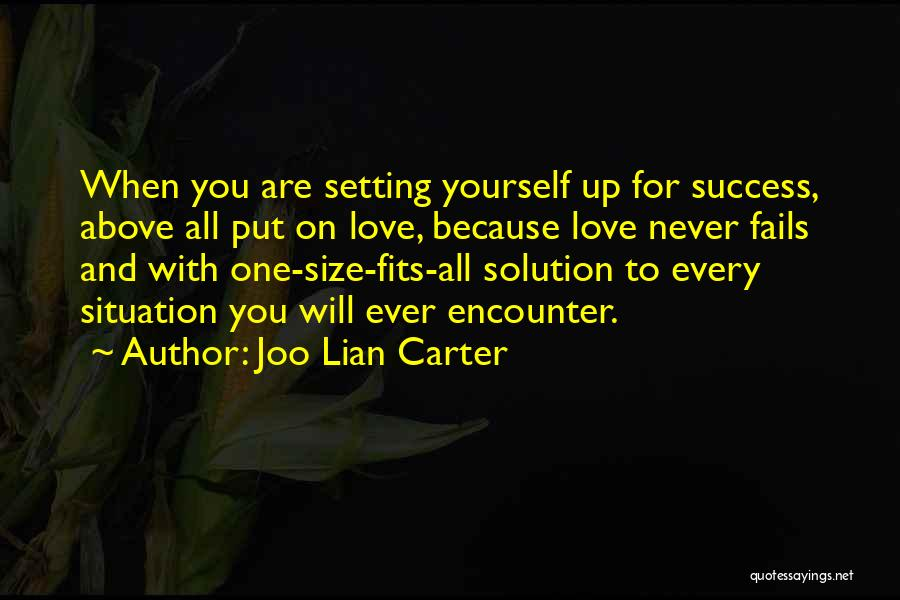 If Love Fails Quotes By Joo Lian Carter