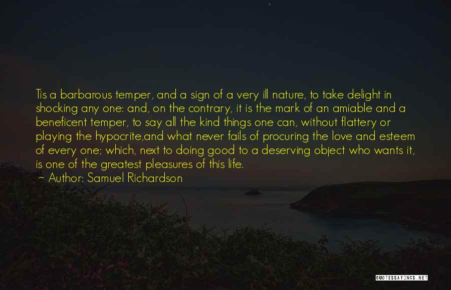 If Love Fails Quotes By Samuel Richardson
