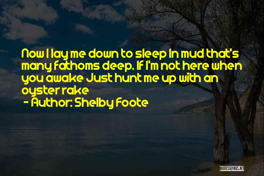 If Not Now When Quotes By Shelby Foote