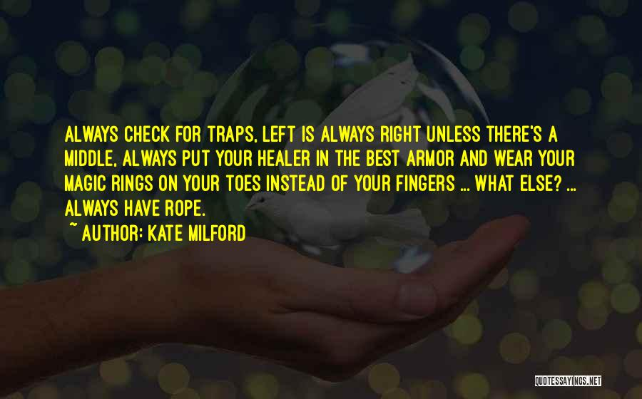 If Nothing Goes Right Go Left Quotes By Kate Milford