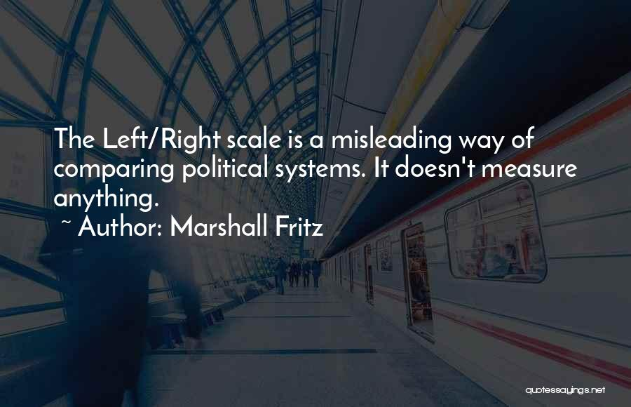 If Nothing Goes Right Go Left Quotes By Marshall Fritz