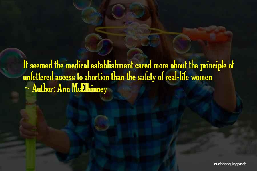 If Only He Cared Quotes By Ann McElhinney