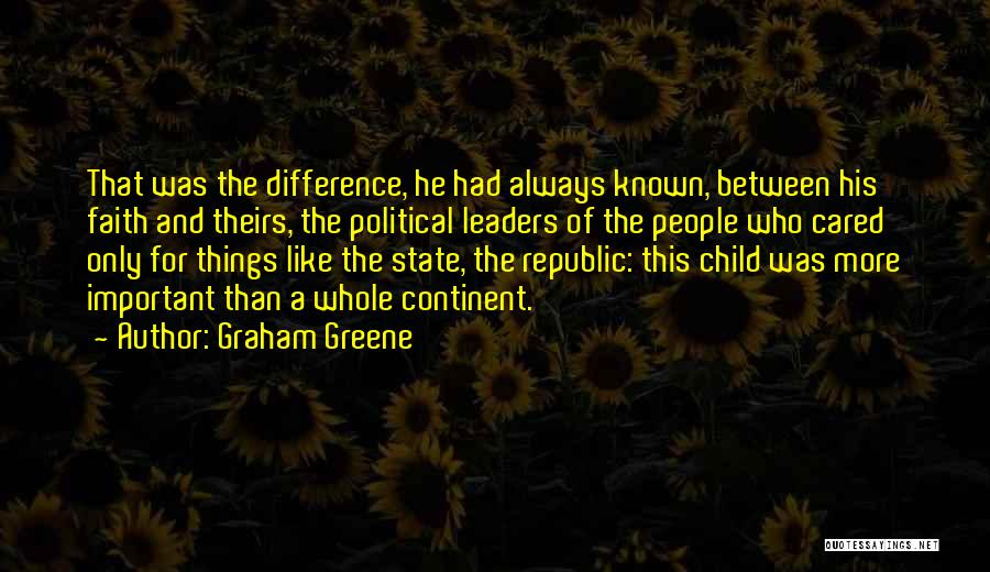 If Only He Cared Quotes By Graham Greene