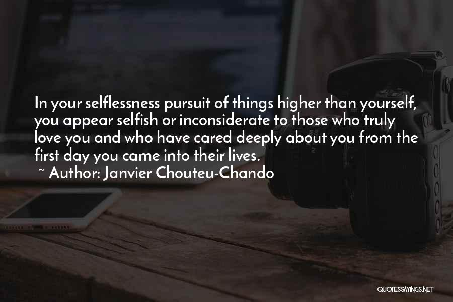 If Only He Cared Quotes By Janvier Chouteu-Chando