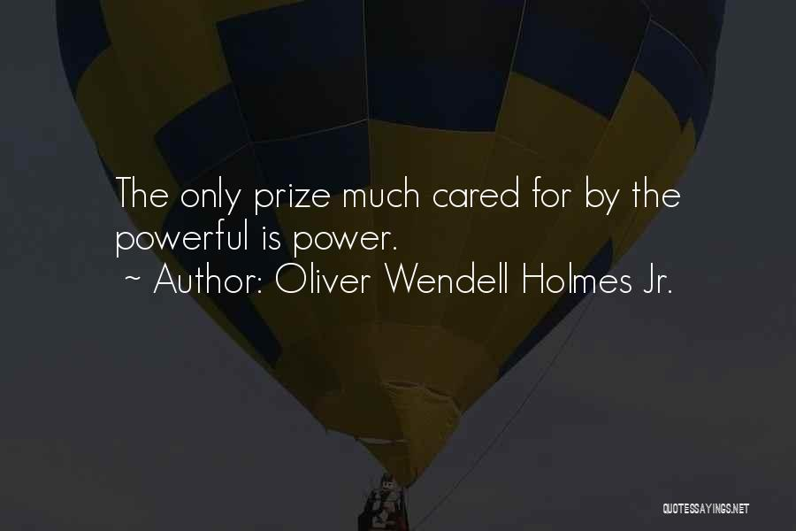 If Only He Cared Quotes By Oliver Wendell Holmes Jr.