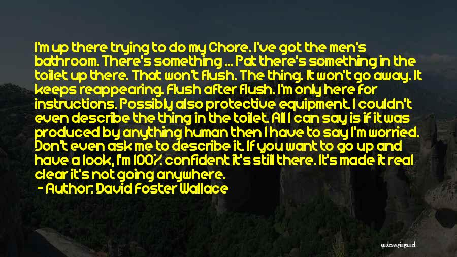 If Only I Can Do Something Quotes By David Foster Wallace