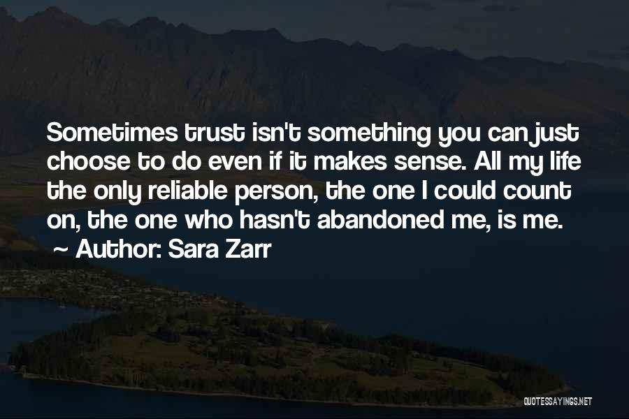 If Only I Can Do Something Quotes By Sara Zarr