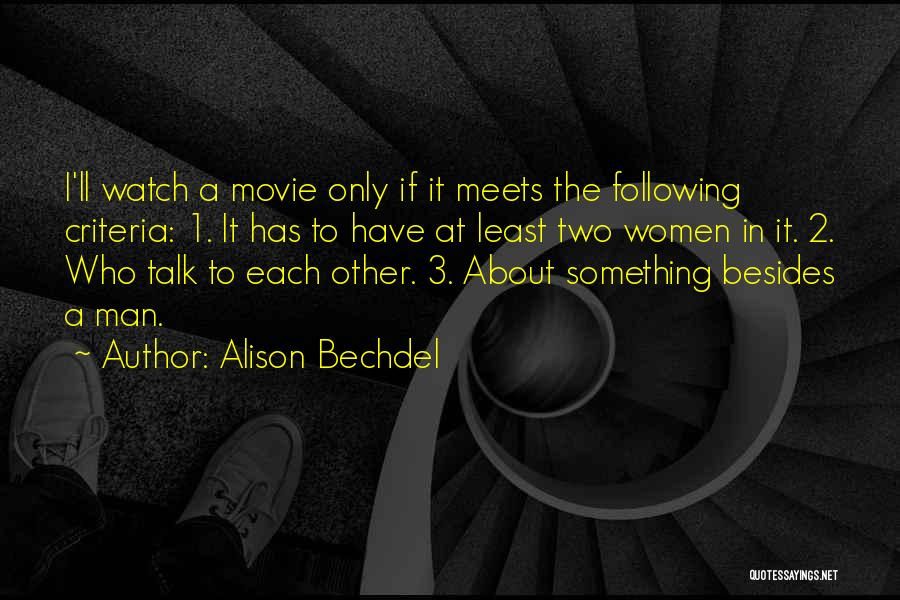 If Only Movie Quotes By Alison Bechdel