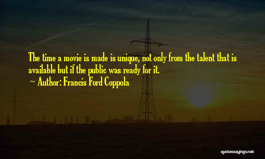If Only Movie Quotes By Francis Ford Coppola