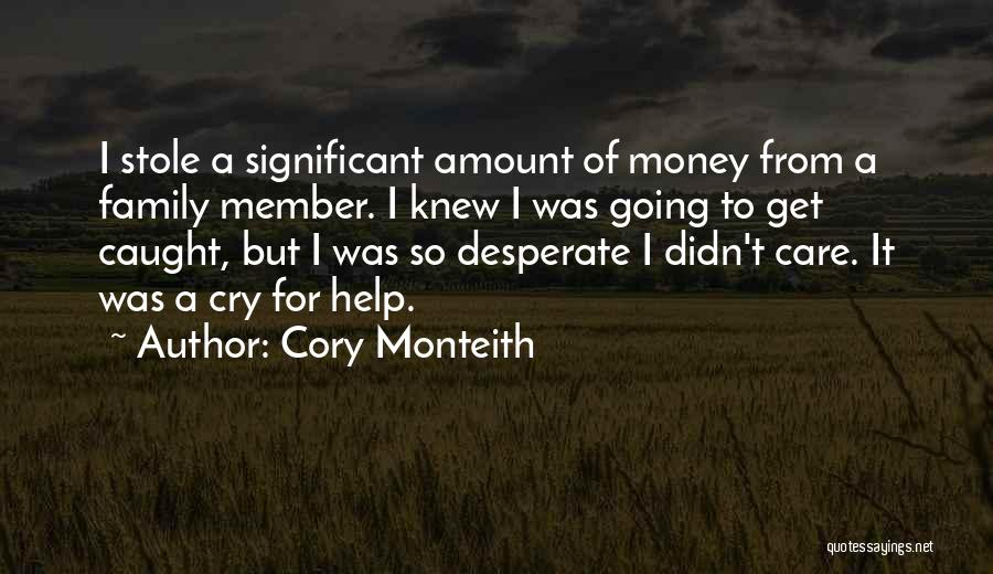 If Only You Knew How Much I Care Quotes By Cory Monteith