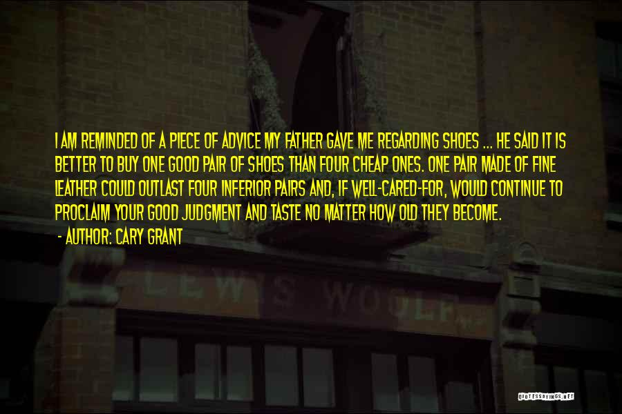 If They Cared Quotes By Cary Grant