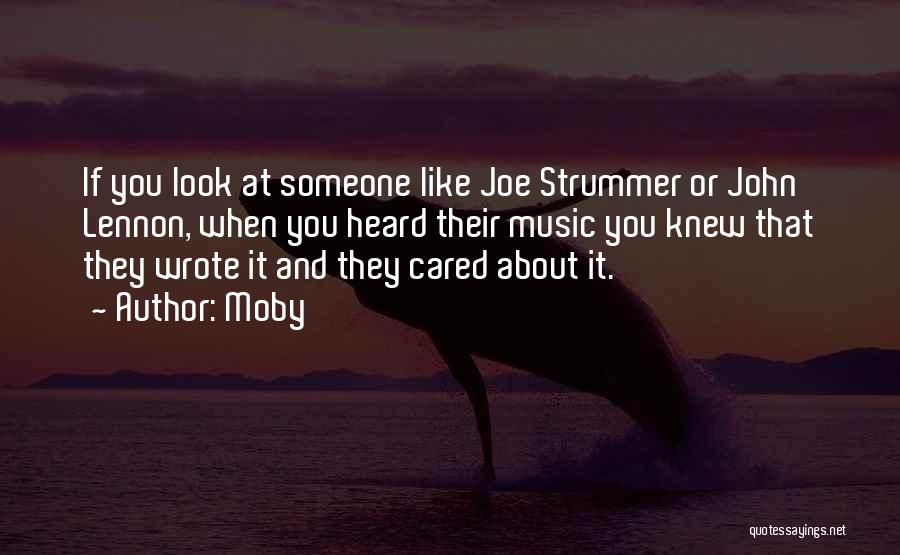 If They Cared Quotes By Moby
