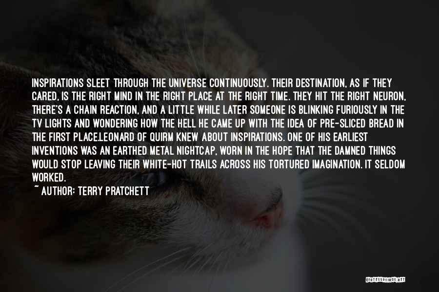 If They Cared Quotes By Terry Pratchett